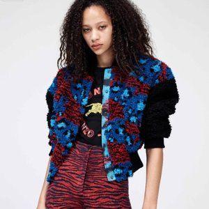KENZO x H&M Pile Bomber Jacket
